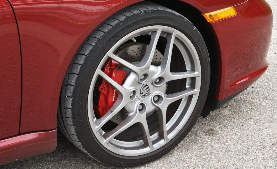 2009 Porsche 911 Carrera S manual wheel - Slide 16