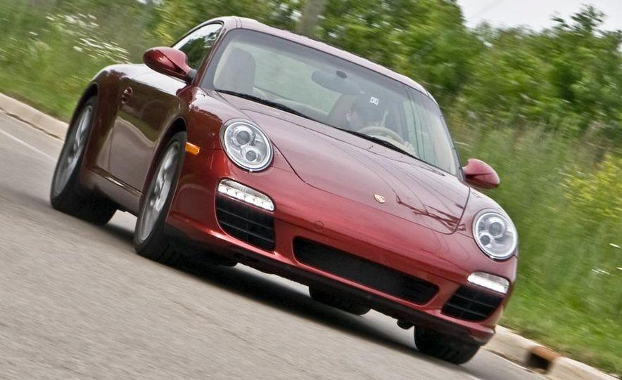 2009 Porsche 911 Carrera S manual wheel - Slide 21