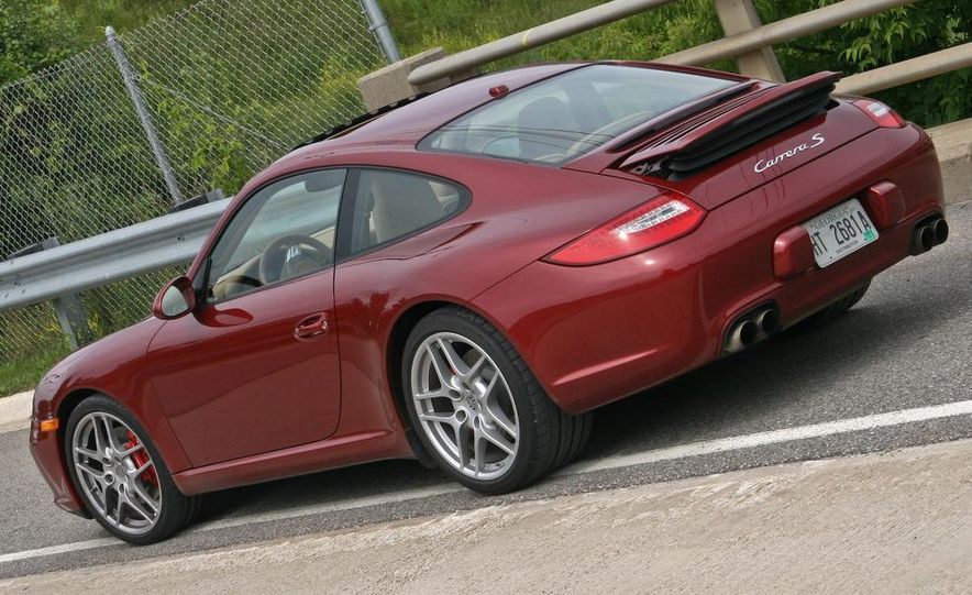 2009 Porsche 911 Carrera S manual wheel - Slide 28