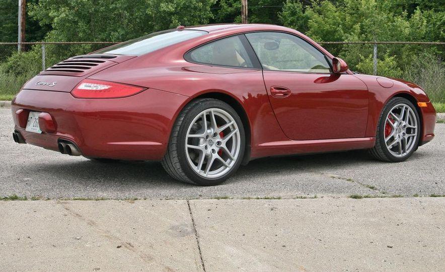 2009 Porsche 911 Carrera S manual wheel - Slide 45