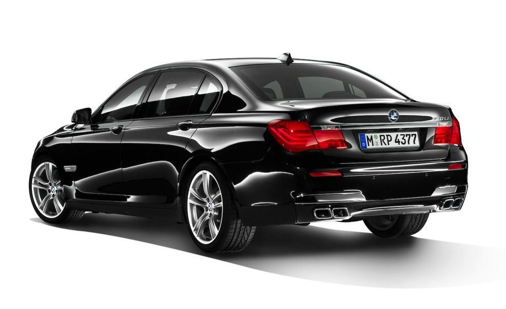 2010 BMW 7 Series With M Sports Package Euro Spec Pictures