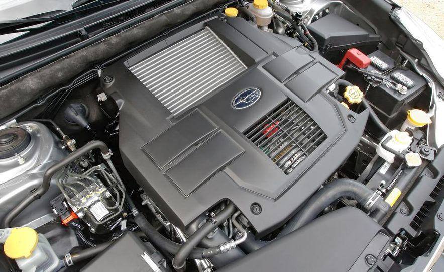 2010 Subaru Legacy 2.5GT - Slide 14