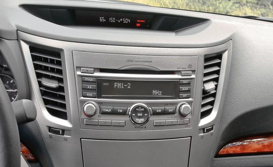 2010 Subaru Legacy 2.5GT - Slide 10