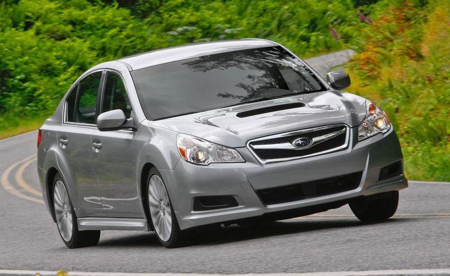 2010 Subaru Legacy 2.5GT - Slide 2