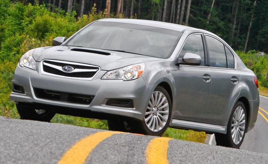 2010 Subaru Legacy 2.5GT - Slide 4