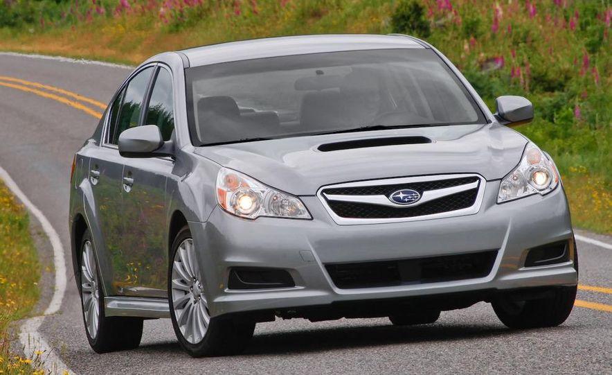 2010 Subaru Legacy 2.5GT - Slide 5