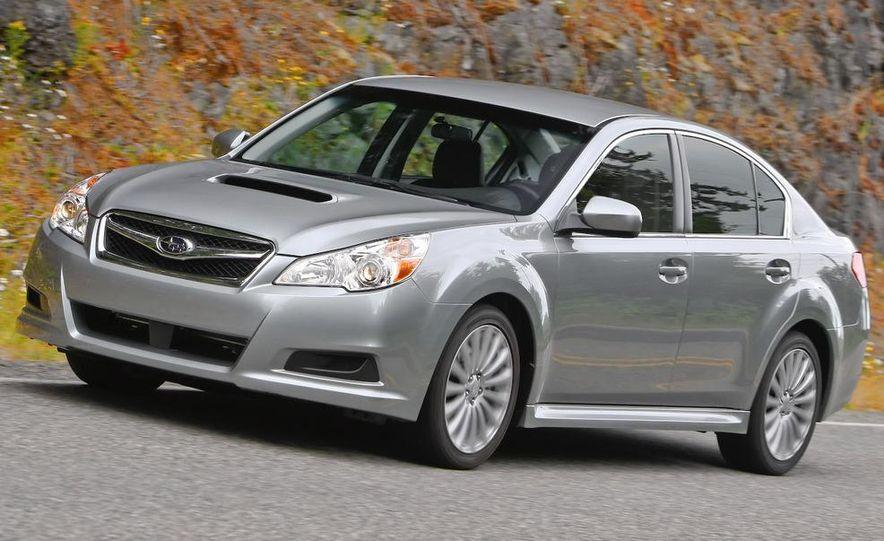 2010 Subaru Legacy 2.5GT - Slide 7