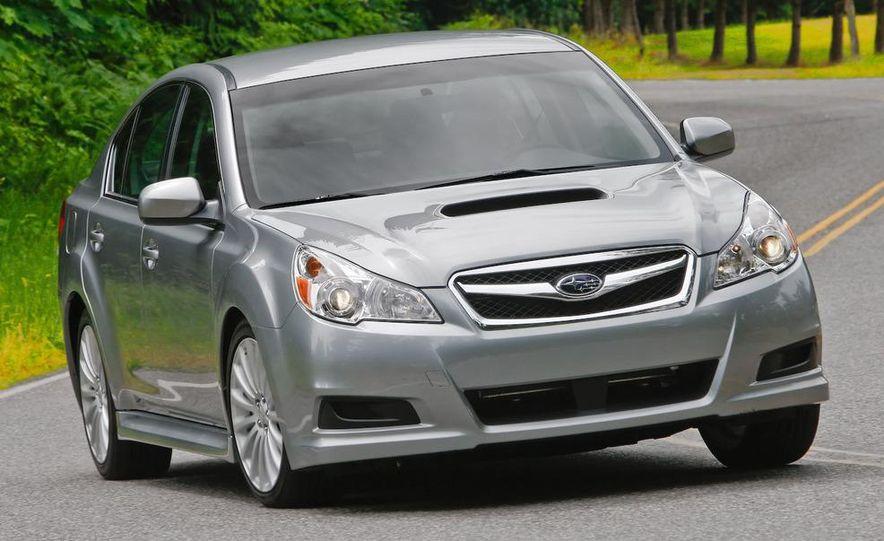 2010 Subaru Legacy 2.5GT - Slide 12