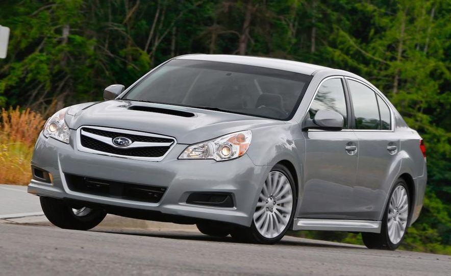 2010 Subaru Legacy 2.5GT - Slide 16