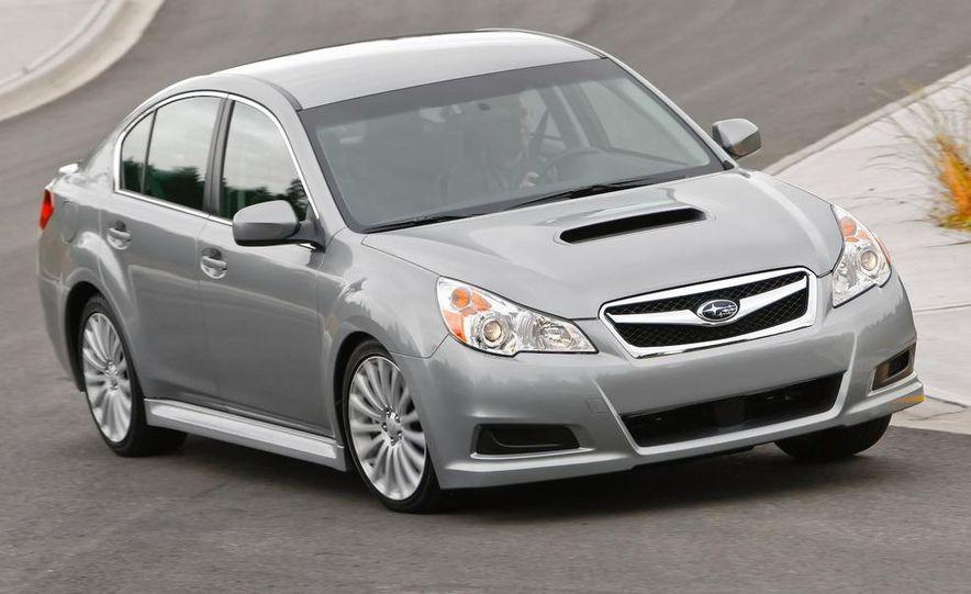 2010 Subaru Legacy 2.5GT - Slide 17