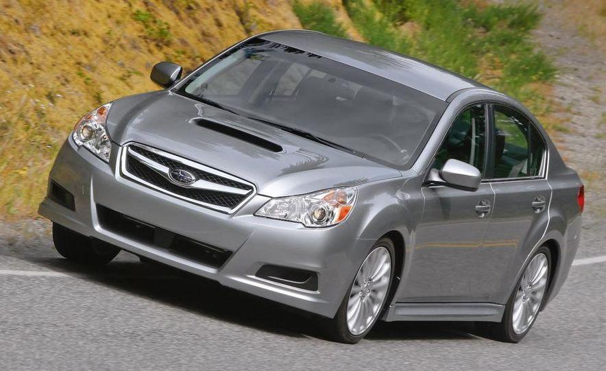 2010 Subaru Legacy 2.5GT - Slide 22
