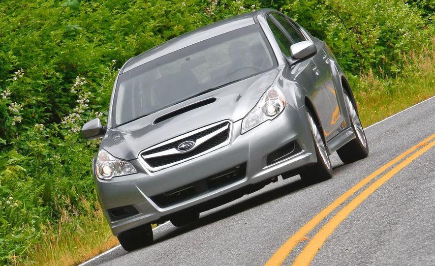 2010 Subaru Legacy 2.5GT - Slide 26