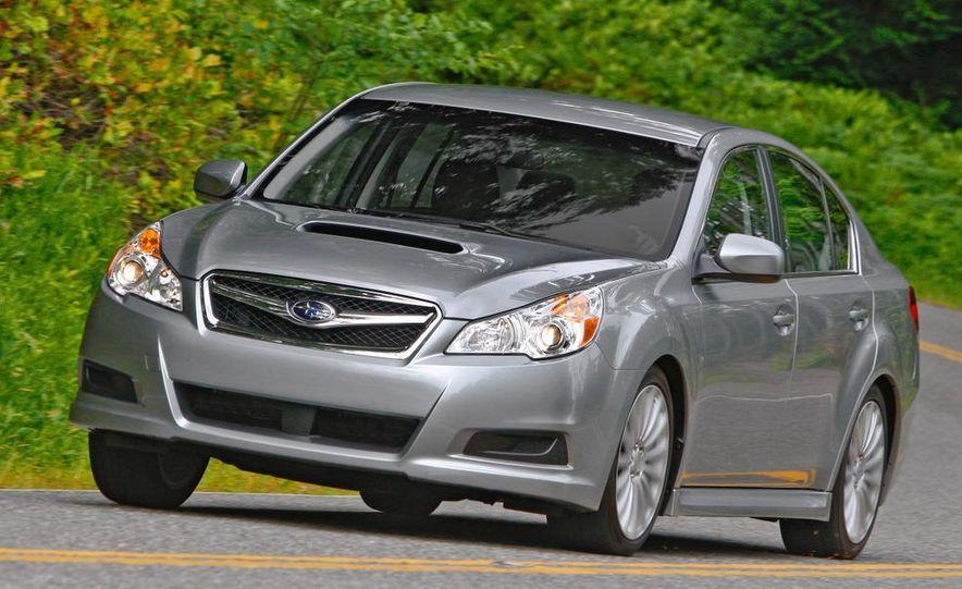 2010 Subaru Legacy 2.5GT - Slide 27
