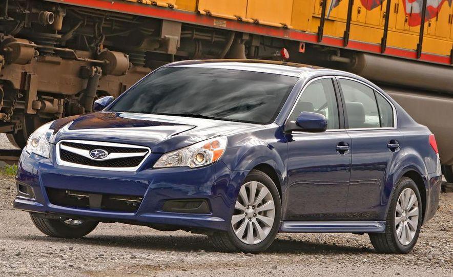 2010 Subaru Legacy 2.5GT - Slide 35