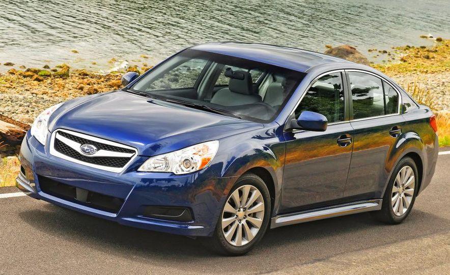 2010 Subaru Legacy 2.5GT - Slide 44