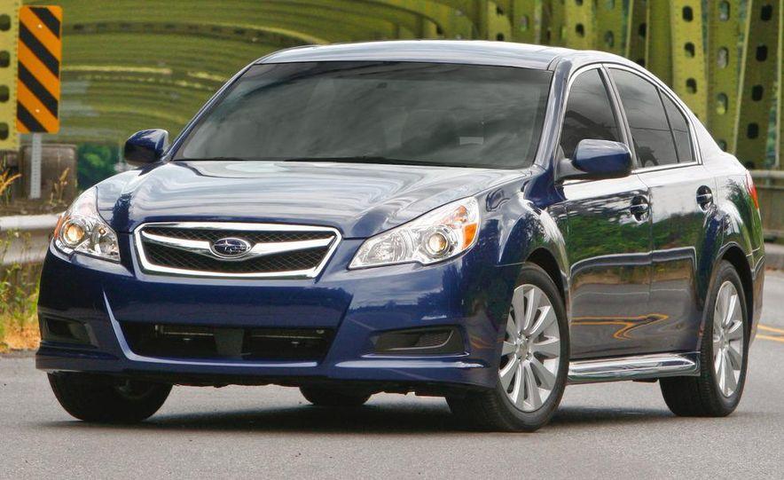 2010 Subaru Legacy 2.5GT - Slide 45