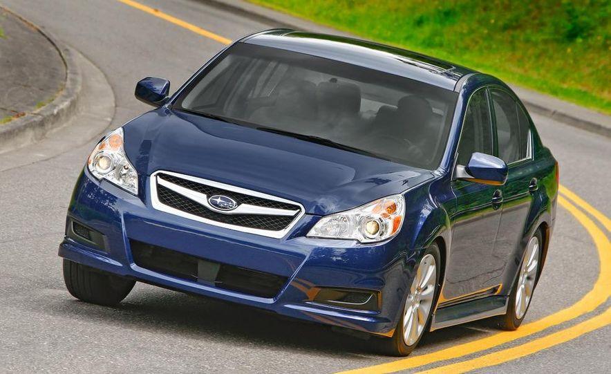 2010 Subaru Legacy 2.5GT - Slide 48