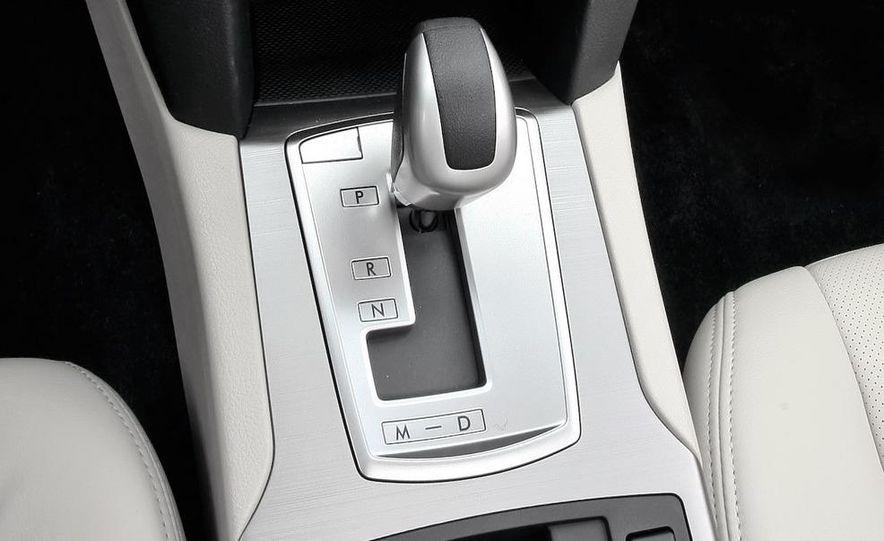 2010 Subaru Legacy 2.5GT - Slide 37