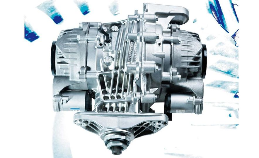 BMW Dynamic Performance Control torque-vectoring system and gearbox - Slide 3
