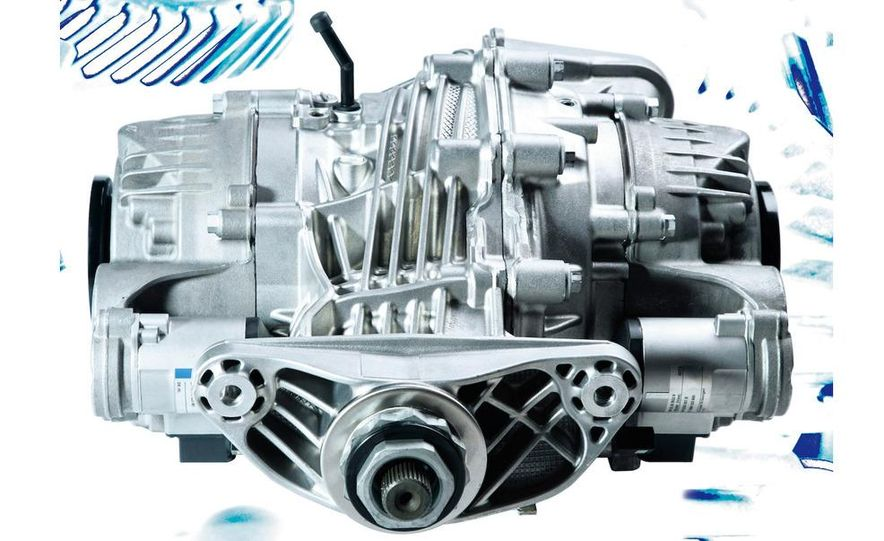 BMW Dynamic Performance Control torque-vectoring system and gearbox - Slide 5