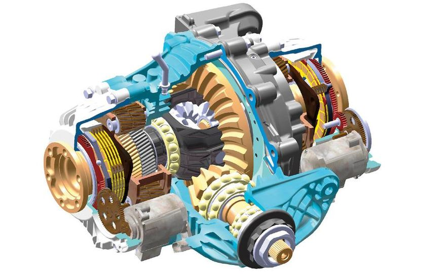 BMW Dynamic Performance Control torque-vectoring system and gearbox - Slide 7
