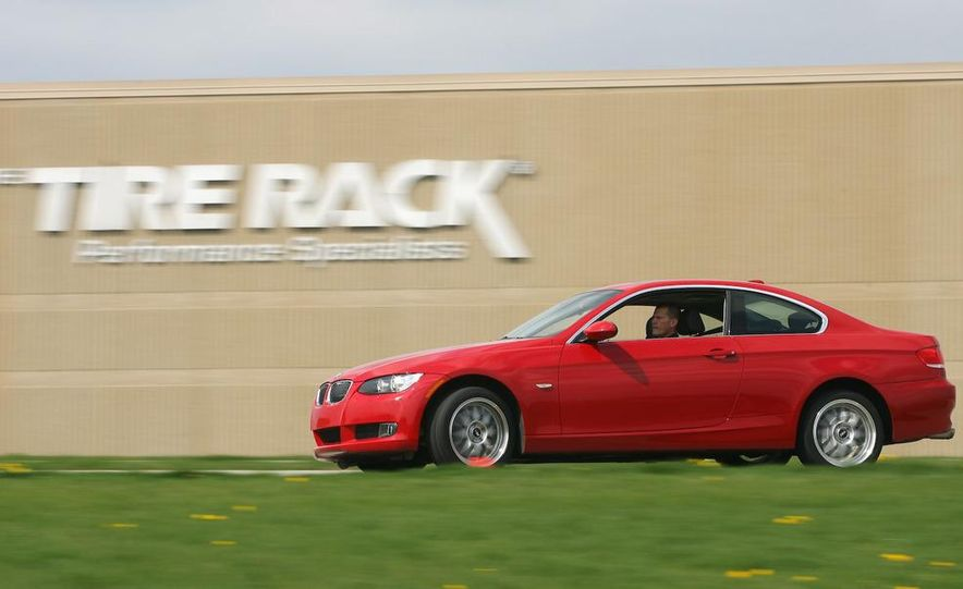 2009 BMW 328i coupe dry testing - Slide 2