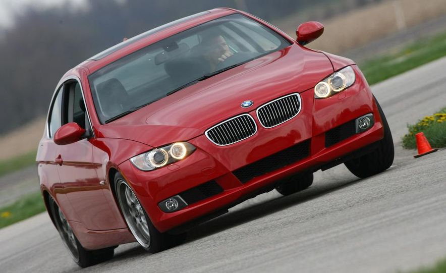 2009 BMW 328i coupe dry testing - Slide 7