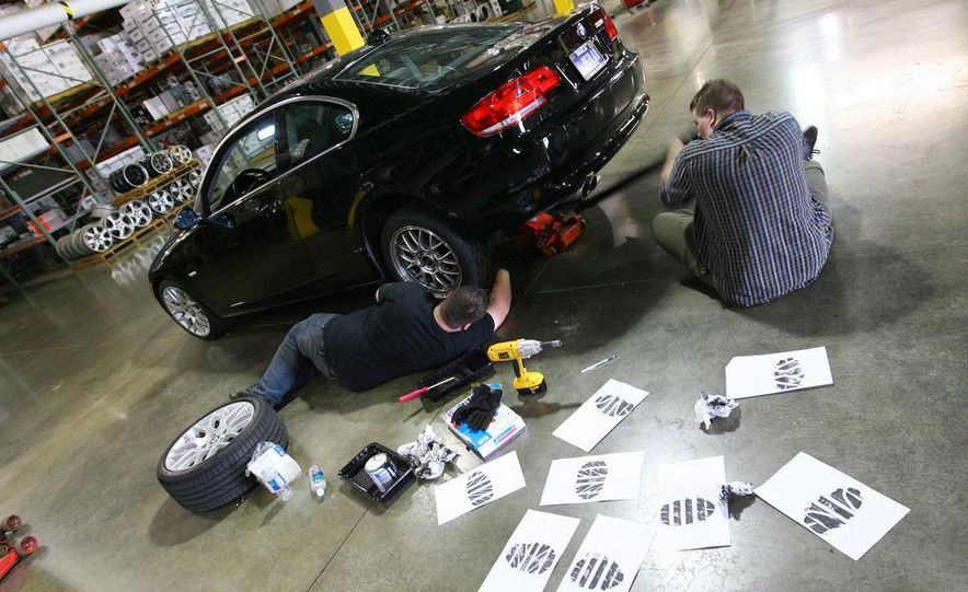 2009 BMW 328i coupe dry testing - Slide 79