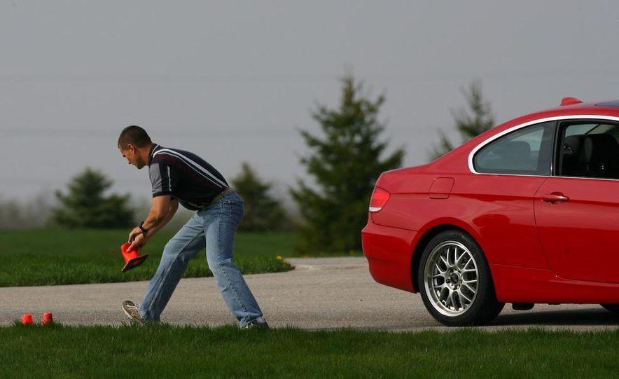 2009 BMW 328i coupe dry testing - Slide 75