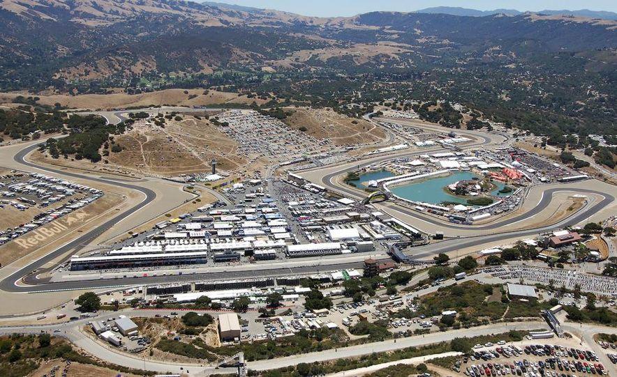 Mazda Raceway Laguna Sega aerial - Slide 1