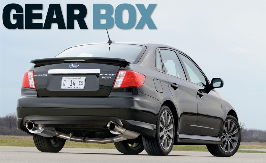 Five Steps to Making More Power in Your Subaru WRX