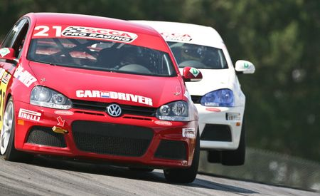 Green and Kinda Mean: We Race in the Volkswagen Jetta TDI Cup