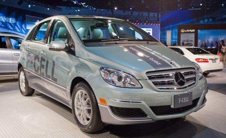 2010 Mercedes-Benz B-class F-Cell