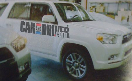 2010 Toyota 4Runner Spotted Undisguised