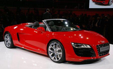2011 Audi R8 5.2 V10 FSI Quattro Spyder