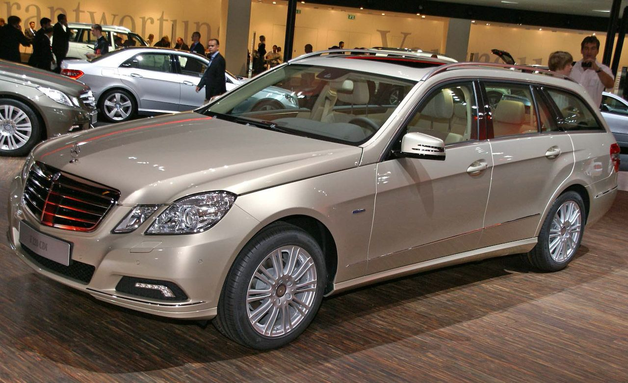 2011 Mercedes Benz E Class E350 Wagon News Car And Driver