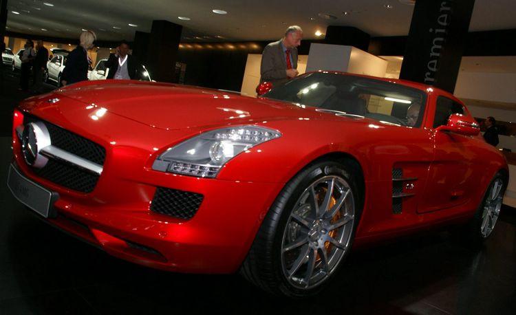 2011 Mercedes Benz Sls Amg Gullwing