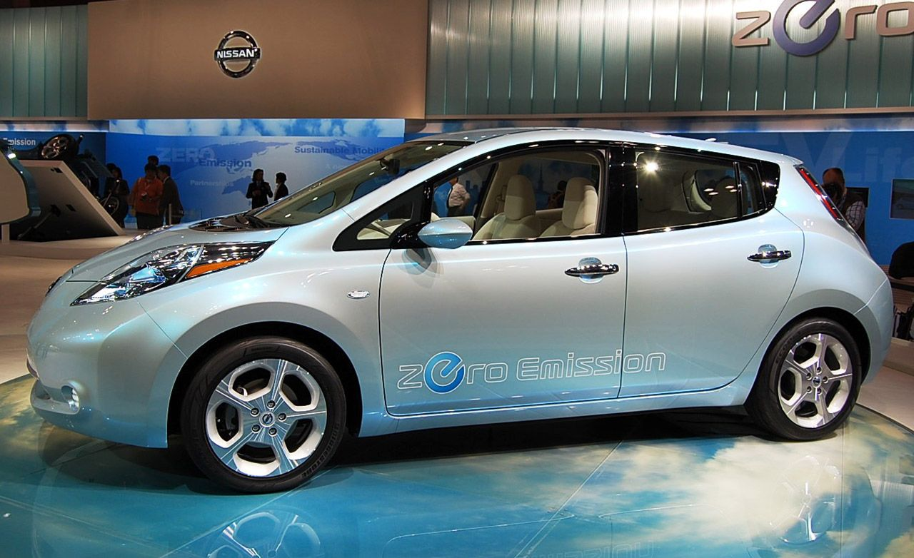 2011 Nissan Leaf Electric Vehicle