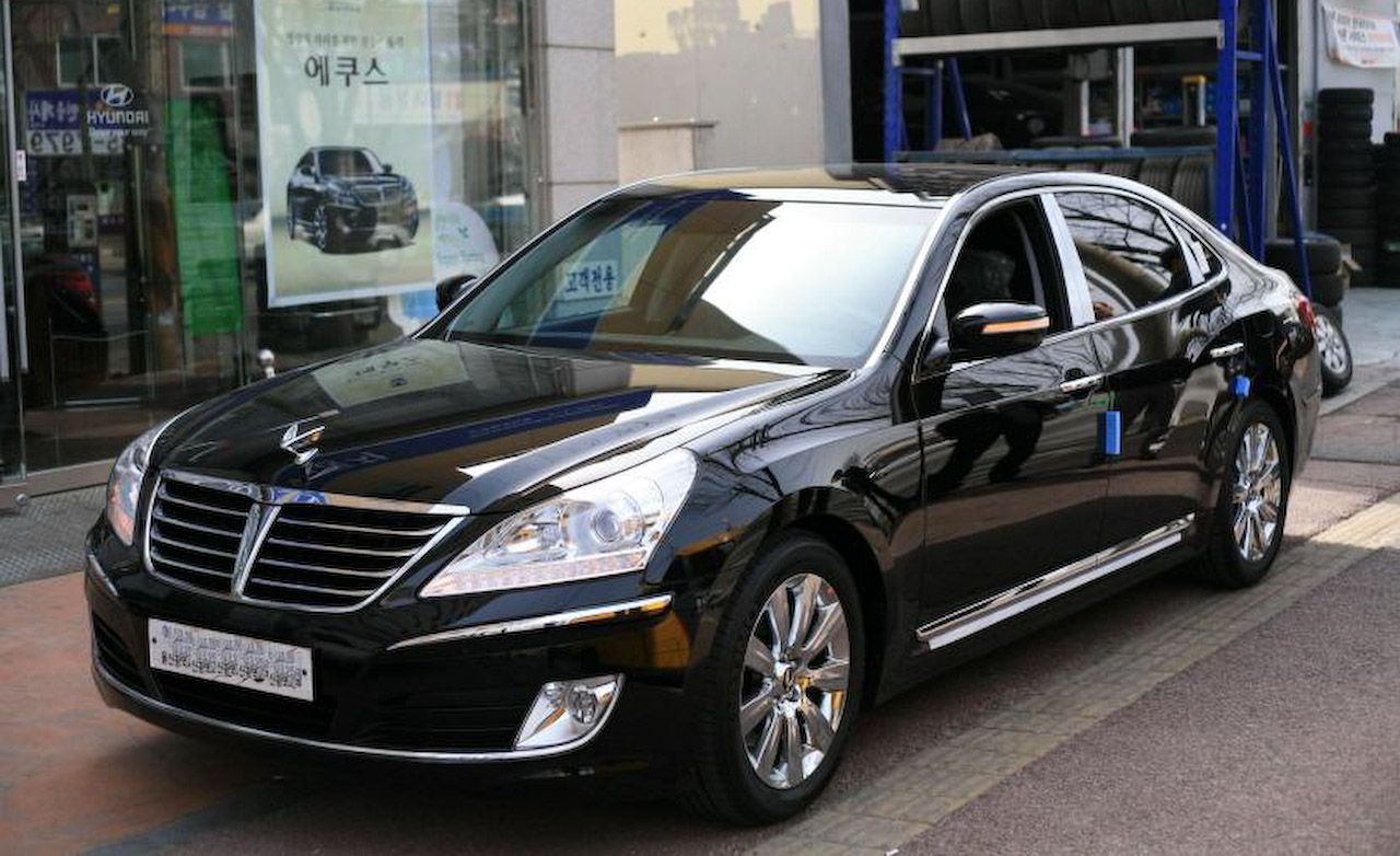 Hyundai Equus Nears Approval For U S Sale