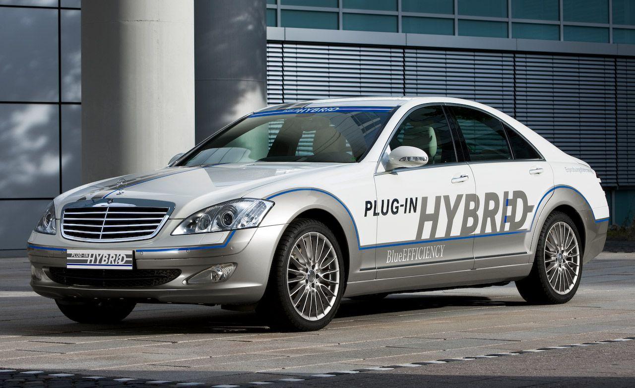 Mercedes-Benz Vision S500 Plug-In Hybrid Concept