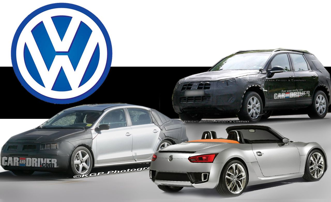 Volkswagen's Future Products Revealed for 2011, 2012, and Beyond
