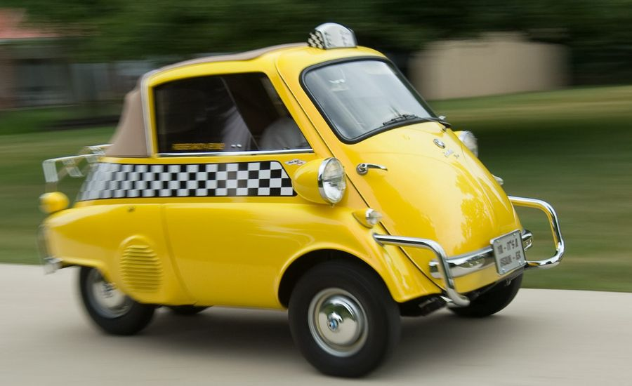 World's Smallest Taxi: A BMW Isetta With a Meter