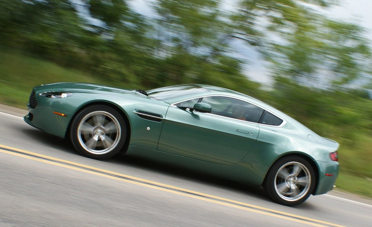 2009 Aston Martin V8 Vantage Instrumented Test Car And Driver