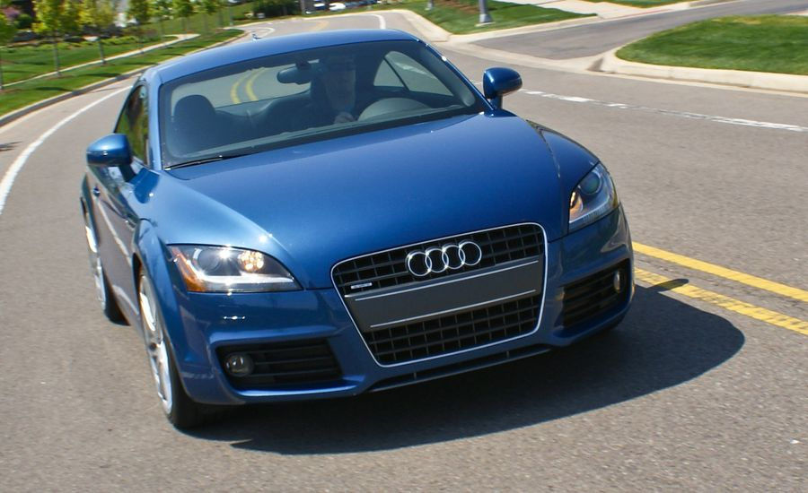 2009 audi tt 2 0t quattro coupe road test review car and driver. Black Bedroom Furniture Sets. Home Design Ideas