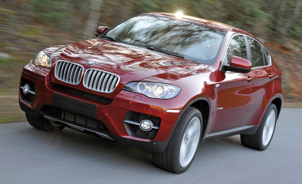BMW X Reviews BMW X Price Photos And Specs Car And Driver - Black bmw x6