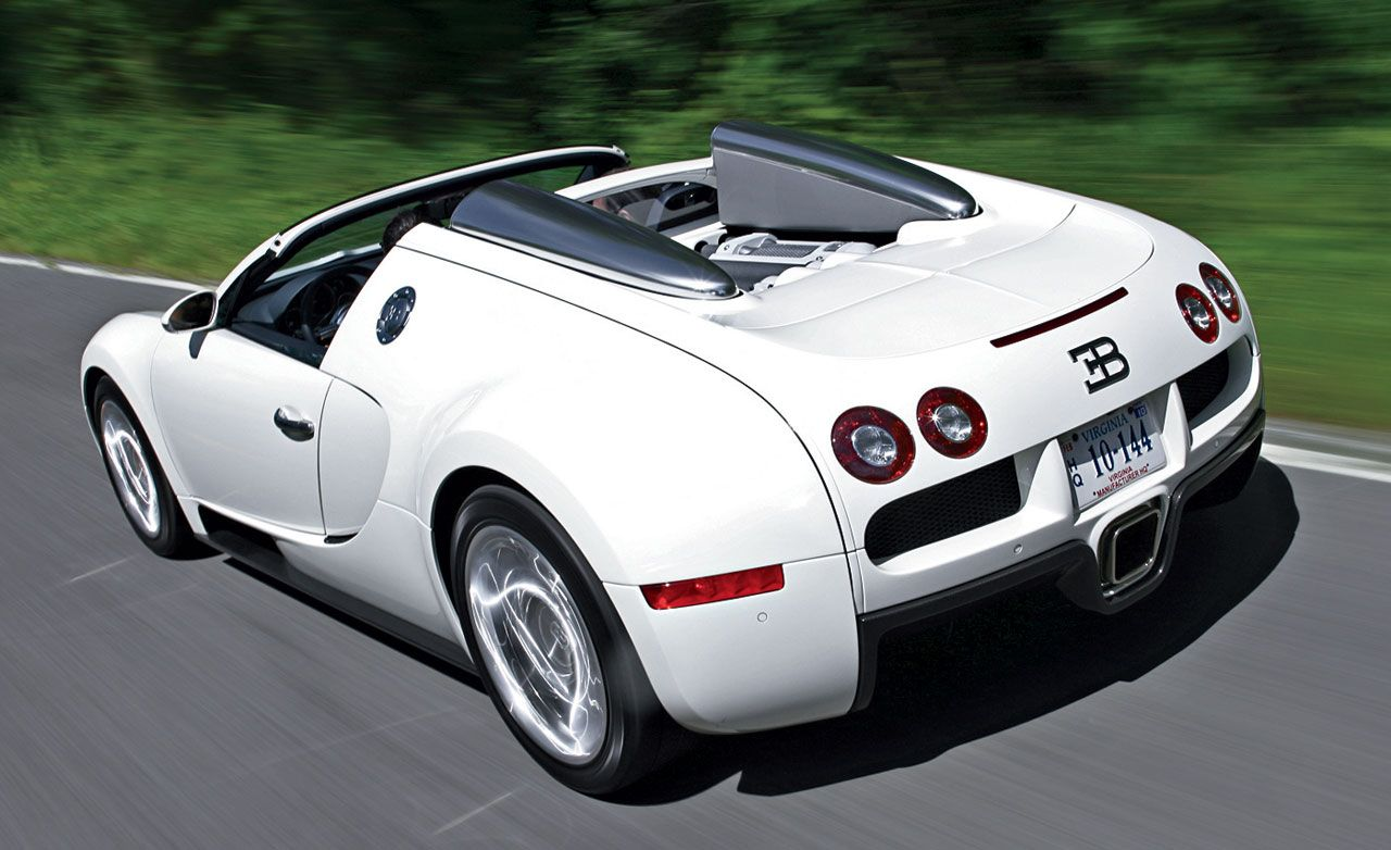 2009 bugatti veyron 16.4 grand sport | review | car and driver