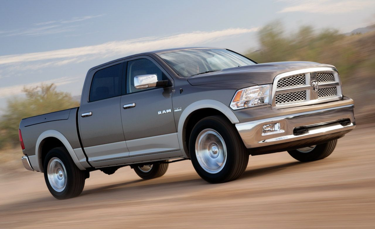 2009 dodge ram 1500 slt 4x4 crew cab road test review car and driver