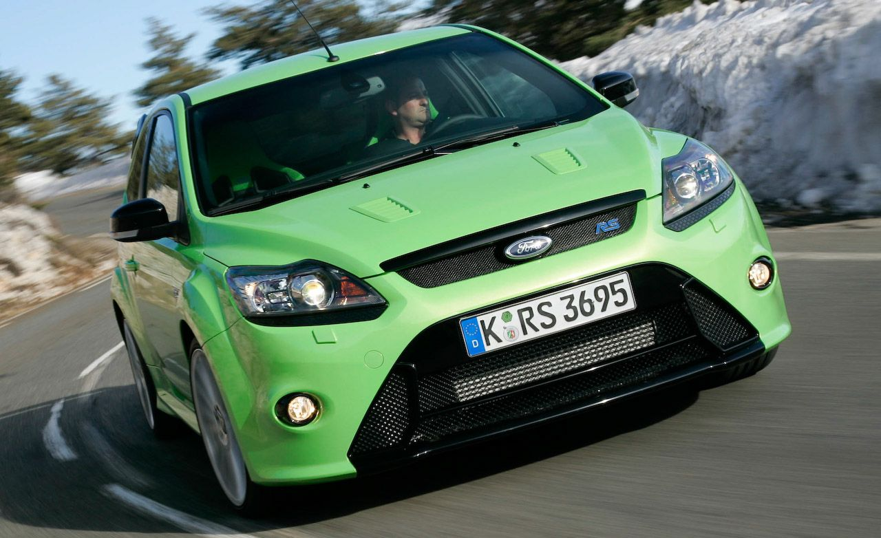 2009 ford focus rs review car and driver