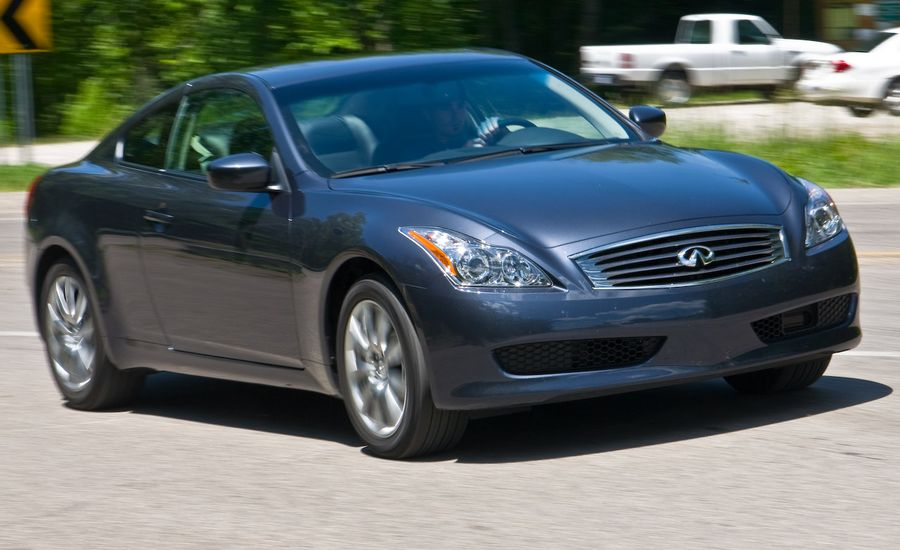 2009 Infiniti G37x Coupe Instrumented Test Car And Driver