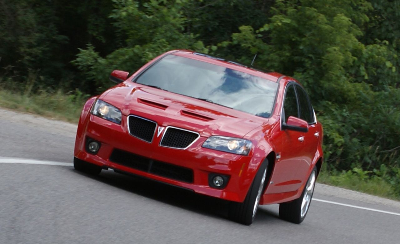 2009 pontiac g8 gxp instrumented test car and driver sciox Image collections